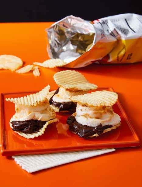 Potato chip s'mores