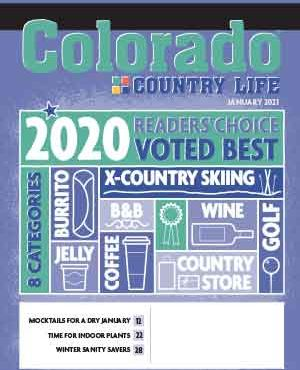 Colorado Country Life January 2021 Magazine Cover
