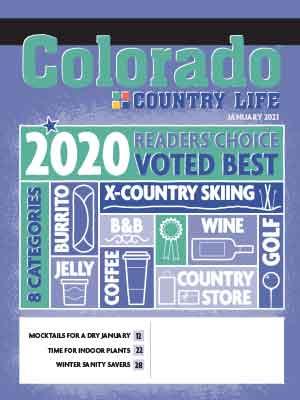 Colorado Country Life January 2021 Magazine Cover