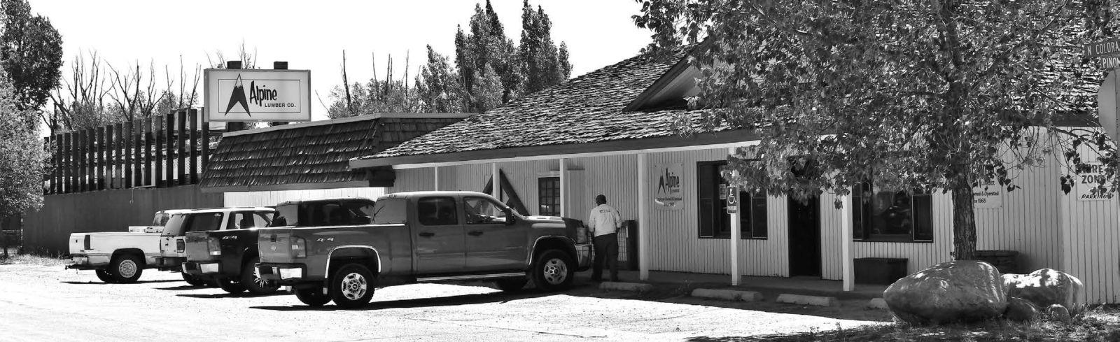 Alpine Lumber storefront