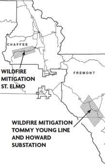 wildfire mitigation map